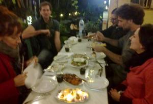 közös vacsora